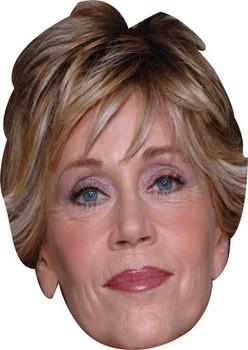 Jane Fonda Celebrity Face Mask