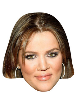 Khloe Kardashian Celebrity Face Mask