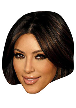 Kim Kardashian Celebrity Face Mask
