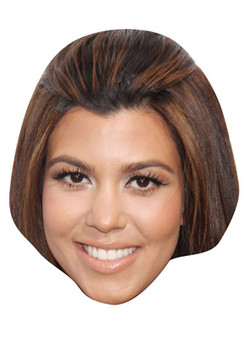 Kourtney Kardashian Celebrity Face Mask