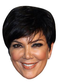 Kris Jenner Celebrity Face Mask