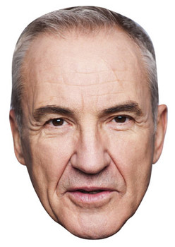 Larry Lamb Celebrity Face Mask