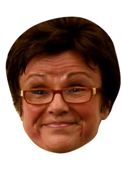 Julie Walters Celebrity Face Mask