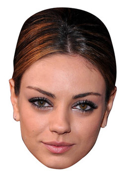 Mila Kunis Celebrity Face Mask