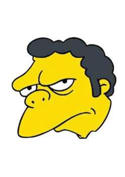 Moe Simpsons Celebrity Face Mask