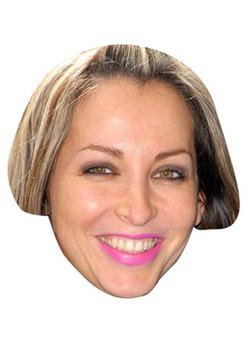 Natalie Appleton Celebrity Face Mask