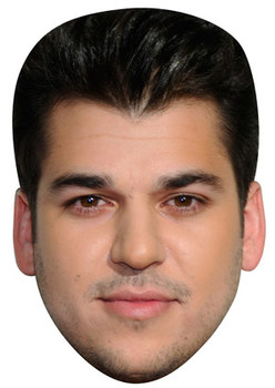 Rob Kardashian Celebrity Face Mask