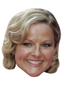Sarah Hadland Stevie From Miranda Celebrity Face Mask