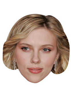 Card Face and Fancy Dress Mask Shakira Celebrity Mask