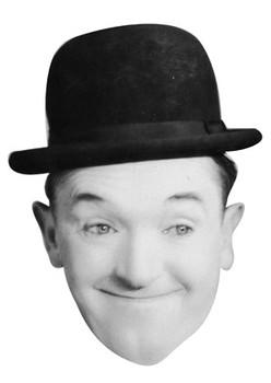Stan Laurel Celebrity Face Mask