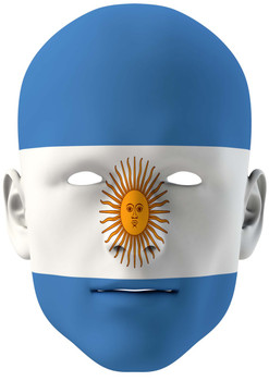 Argentina World Cup Face Mask