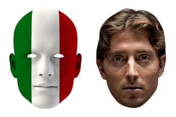 Italy World Cup Face Mask Pack Montolivo
