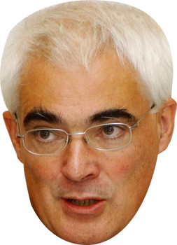 Alistair darling politician celebrity party face fancy dress