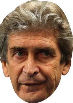 Manuel Pelligrini Manchester City Mancity Face Mask
