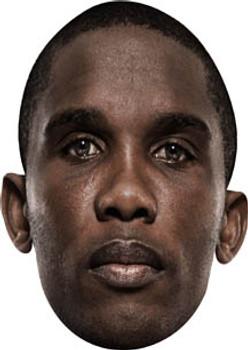 Samuel Eto Face Mask