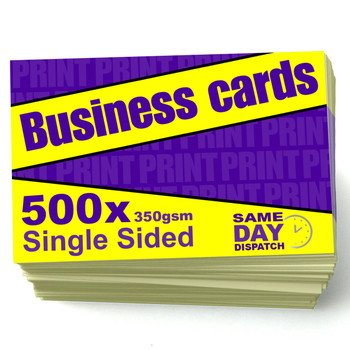 500 X Business Cards