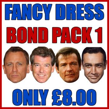 Bond Pack 1 Fancy Dress