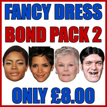 Bond Pack 2 Fancy Dress