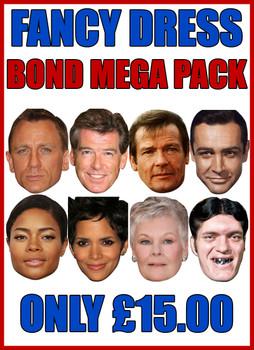 Bond Pack Mega Pack Fancy Dress