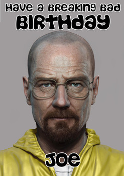 Breaking Bad Birthday Card