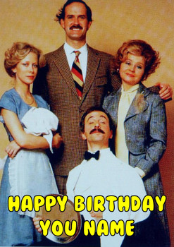 Faulty Towers Birthday Card