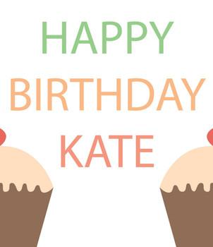 Birthday Female Cakes Birthday Card