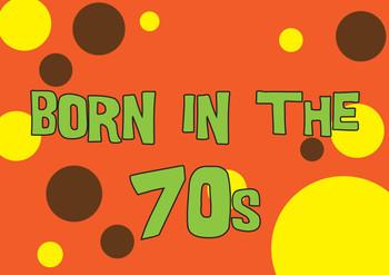 Born In The 70s Birthday Card