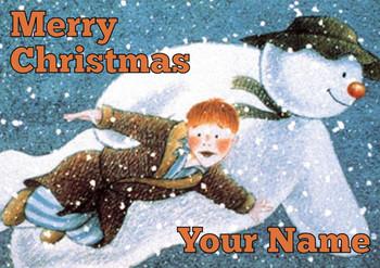 The Snowman Christmas Card