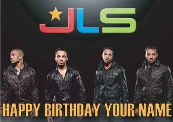 Jls Birthday Card