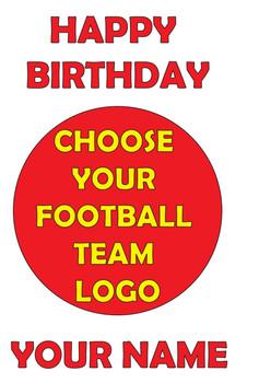 Choose Your Team Birthday Card