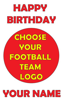 Choose Your Team Birthday Card