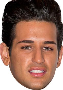 Ollie Lock 2018 Celebrity Face Mask
