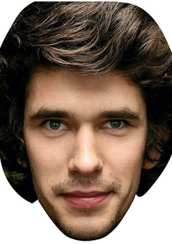 Ben Whishaw Bond 2018 Celebrity Face Mask
