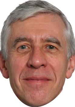Jack Straw Politicians 2018 Celebrity Face Mask