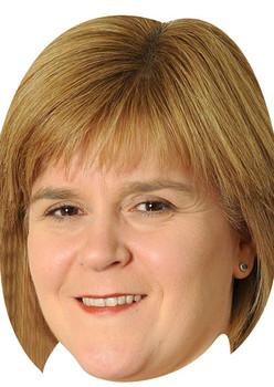 Nicola Sturgeon Politicians 2018 Celebrity Face Mask
