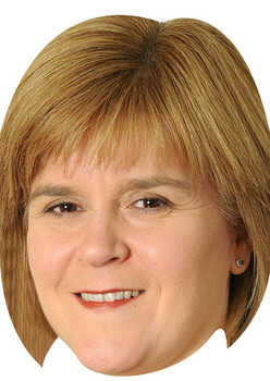 Nicola Sturgeon Politicians 2018 Celebrity Face Mask