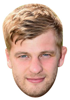 George Kruis Rugby 2018 Celebrity Face Mask
