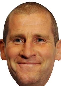 Stuart Lancaster England Rugby 2018 Celebrity Face Mask