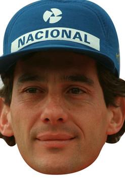 Ayrton Senna Sports 2018 Celebrity Face Mask