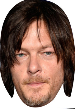Norman Reedus Walking Dead 2018 Celebrity Face Mask