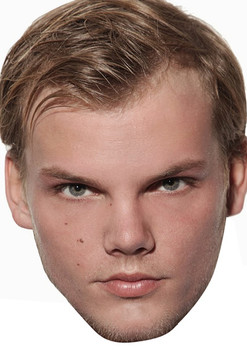 Avicii Music Star 2018 Celebrity Face Mask