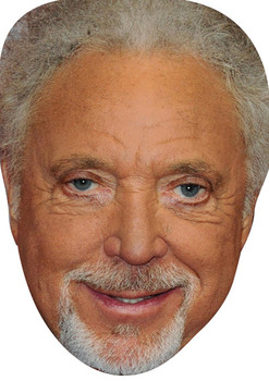 Tom Jones Music Star 2018 Celebrity Face Mask