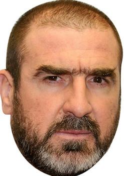 Eric Cantona Football 2018 Celebrity Face Mask