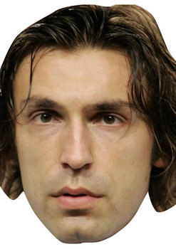 Pirlo Football 2018 Celebrity Face Mask