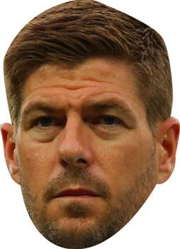 Steven Gerrard Football 2018 Celebrity Face Mask