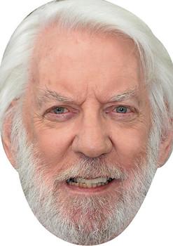 Donald Sutherland Movies Stars 2018 Celebrity Face Mask