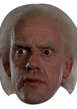 Emmett Brown Movies Stars 2018 Celebrity Face Mask