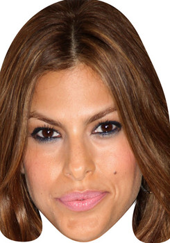 Eva Mendes Long Hair Movies Stars 2018 Celebrity Face Mask