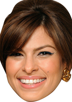 Eva Mendes Short Hair Movies Stars 2018 Celebrity Face Mask