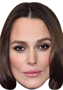 Keira Knightley Movies Stars 2018 Celebrity Face Mask